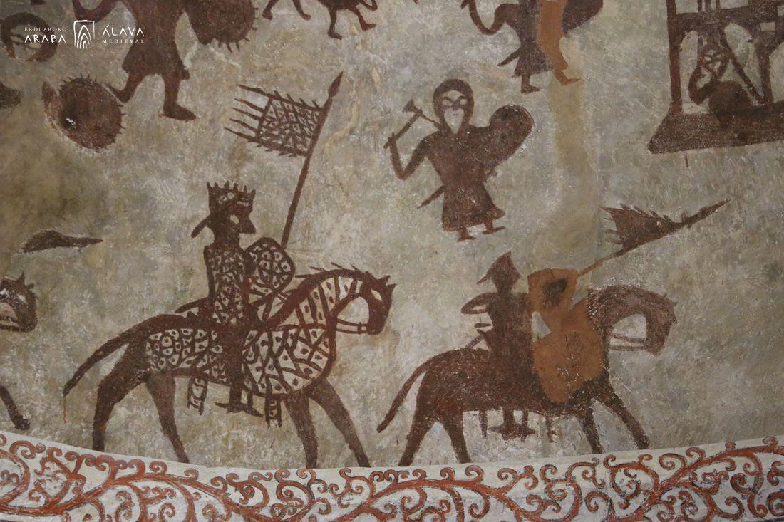 """Entrevista en TeleMadrid: """"Las pinturas medievales de Alaiza"""""""