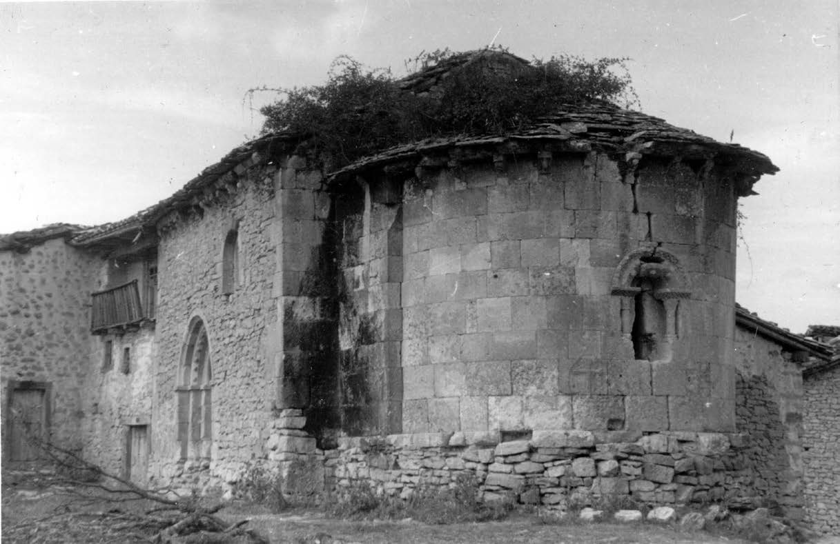 La ermita de San Juan de Cárcamo. Lo problemático de su advocación y lo incierto de una inscripción atribuida al Císter en el año 1150